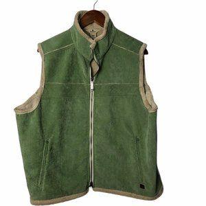 Womens 2XL 2X Woolrich corduroy shearling lined vest